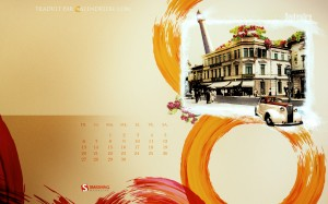 Calendrier septembre 2009 little paris