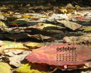 Calendrier Octobre automne 2009