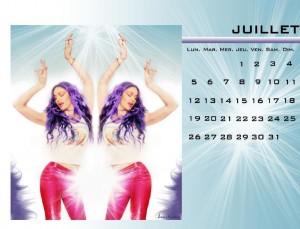 calendrier madonna juillet 2010