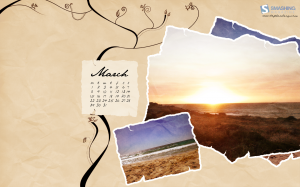 calendrier paysage mars 2010