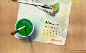 calendrier pc 2010 avril