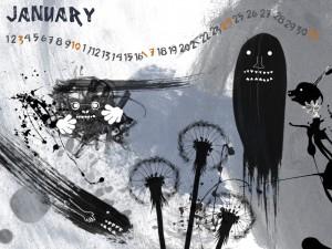 fond d'écran janvier 2010